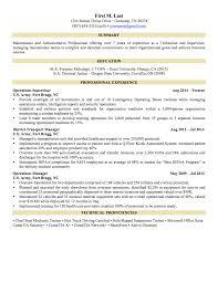 Resume Objective For Internship  cover letter objectives for