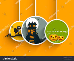 tags labels stickers haunted house scary stock vector 146947271