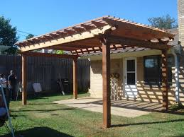 Small Pergola Kits by Simple Wood Patio Covers Patios Cover Shade Plus Wooden Blueprints