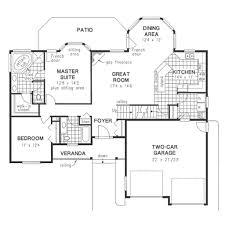 functional 2 bedroom u0027empty nester u0027 main floor house designs