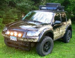 Ford Explorer Roof Rack - camo u0027ed ford escape off road pinterest ford cars and 4x4