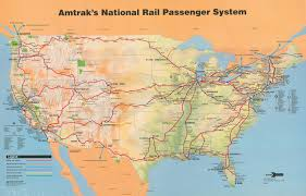 Amtrak Capitol Corridor Map by Amtrak System Map 1993 U2014 Amtrak History Of America U0027s Railroad