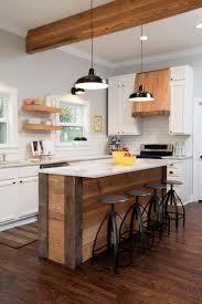 ebony wood ginger amesbury door movable kitchen island with