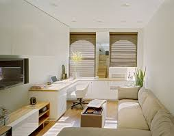 Interior Design For Small Spaces Living Room And Kitchen Space Saving Tiny Apartment New York