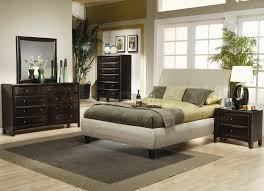 furniture awesome master bed with chic walnut dressing table house
