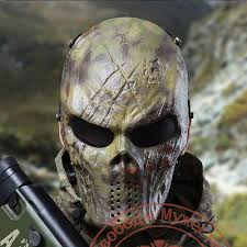 ghost face mask military