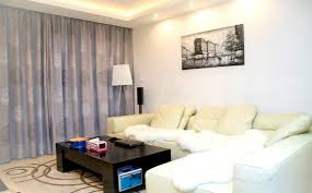 Living Room With Tv by Charming Small Simple Living Room With Tv And Sofa U2014 Stock Photo