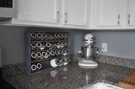 Best Spice Racks For Kitchen Cabinets Spice Cabinet Sawdust 2 Stitches