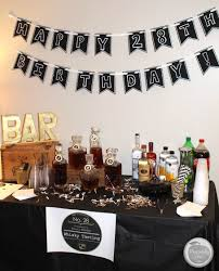 planning a guy u0027s birthday party whiskey tasting manly theme