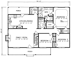 country style house plan 3 beds 2 baths 1660 sq ft plan 66 175