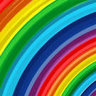 XOO.me :: Bold Color Rainbow Abstract Vector Background