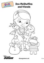 coloring pages of doc mcstuffins within disney junior coloring