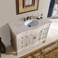 Inch Kriss Vanity Antique White Vanity Distressed Furniture - 48 bathroom vanity antique white