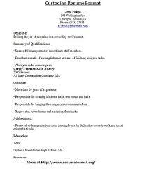 Janitor Sample Resume by 28 Sample Janitor Resume Maintenance Amp Janitorial Resume
