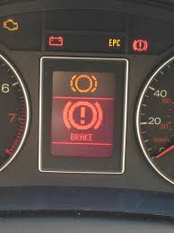 lexus warning light indicators when should i get new brakes