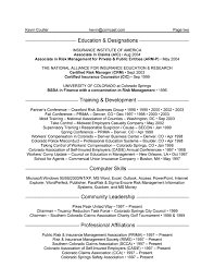 Sample Of Sales Manager Resume by Insurance Manager Resume Example