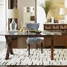 Bennett Mahogany Brown Dining Table Base Pier  Imports - Pier one dining room sets