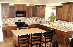 decor superwhite granite countertop with kraus sinks and graff dark kitchen cabinets with under cabinet lighting and