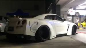 nissan gtr liberty walk price new member white gt r r35 with liberty walk wide bodykits
