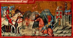 Botond és a görög harcos párviadala Konstantinápoly kapuja előtt