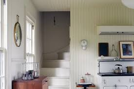 this beadboard paneling trick will bring continuity to a small