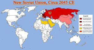 Pakistan On The Map Map Of The New Ussr And Allies By Redrich1917 Deviantart Com On