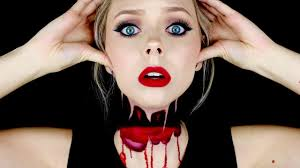 headless halloween makeup tutorial cosmobyhaley youtube