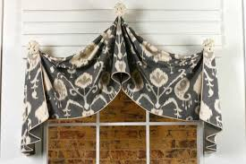 pull up curtain valance sewing pattern