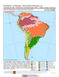 South America River Map by Map Gallery Sedac