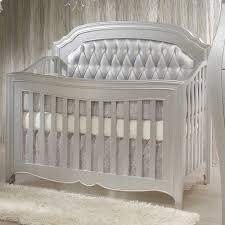 Legacy Convertible Crib by Allegra Convertible Crib Diamond Upholstered Panel Platinum