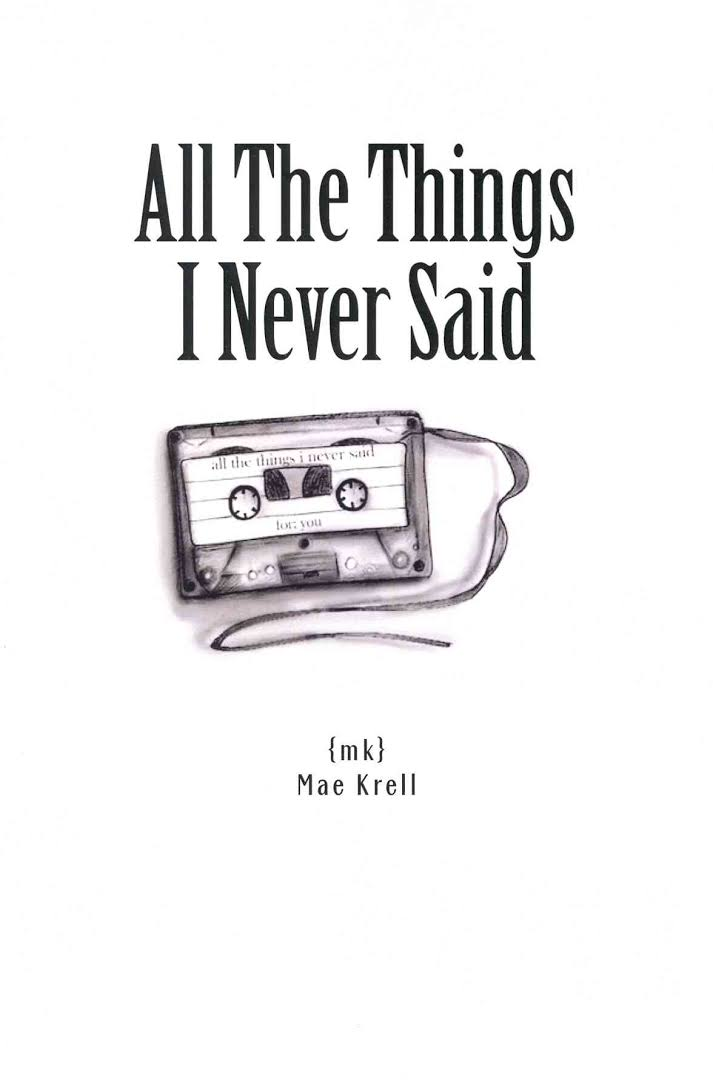 Image result for all the things i never said book