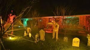 animatronic halloween props roy home brings homemade halloween decor to next level