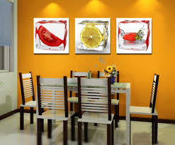 kitchen picture of kitchen dining room decoration using red