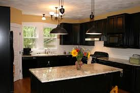 kitchen kitchen paint colors with dark wood cabinets retro