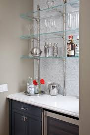 Glass Shelves Kitchen Cabinets 7 Best Glass Bistro Shelving Images On Pinterest Bistros Glass