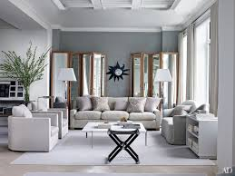 Living Room Wall Photo Ideas Inspiring Gray Living Room Ideas Photos Architectural Digest