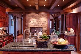 Traditional Kitchen Designs Medium Wood Cabinets Cherry Color U2013 Traditional Kitchen Design