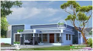 Sq Ft Single Floor  BHK Modern Home Designs HomeInteriors - Home designes