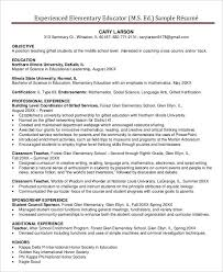The Best Resume In The World by Teacher Resume Sample 28 Free Word Pdf Documents Download