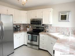 Kitchen Cabinet Paint Color White Aluminum Kitchen Cabinets Livelovediy A Diy Blogger U0027s