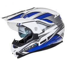 white motocross helmets spada intrepid mirage white blue black helmet kent motocross t