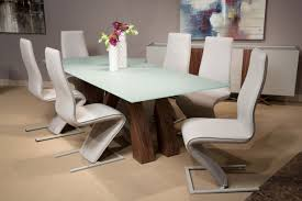 European Dining Room Furniture Aico Trance European Modern Rapture Glass Top Dining Set Usa