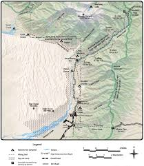 Southern Colorado Map by Colorado National Park Trail Maps Feral Mountain Company