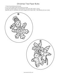 christmas crafts for kids santa craft tree ornaments