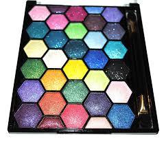 amazon com pearl sparkle 64 elegant eyeshadow colors makeup kit