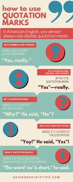 ideas about Quotation Format on Pinterest Pinterest Quotations can bring your writing to life   the reader imagines someone saying the words