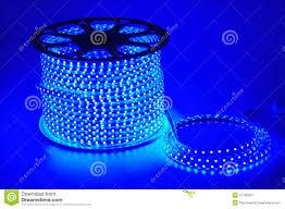 blue light led belt led strip home decoration floral decoration