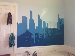 10 indoor mural ideas batman room gotham and devon 10 indoor mural ideas