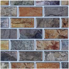Backsplash Tile For Kitchen Peel And Stick Art3d Peel And Stick Kitchen Backsplash Tile 12in X 11in Pack Of 6