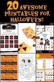 Halloween Printable Activities 20 Free Halloween Printables For Family Fun Activities
